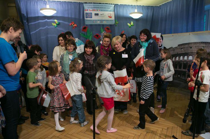 Wizyta partnerów w Warszawie w Przedszkolu nr 240