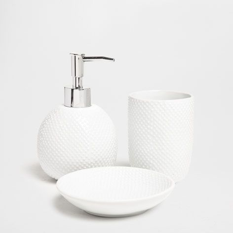 Shiny Dotted Bathroom Set - Accessories - Bathroom | Zara Home United States