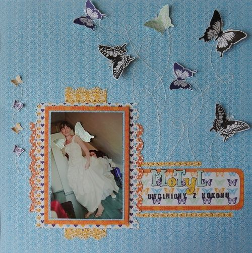 Made by Katrina. Papers from Be Optimistic collection.