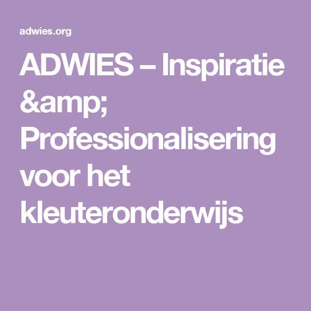 ADWIES – Inspiratie & Professionalisering voor het kleuteronderwijs