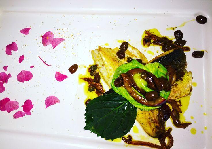 Filetto di Braznino con olive Taggiasche