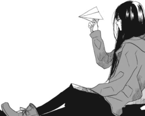 anime girl monochrome - Google Search