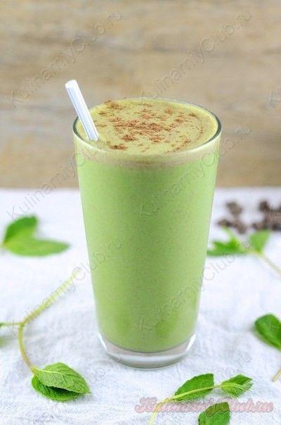 Мятный смузи on http://kulinarniyclub.ru Mint smoothie