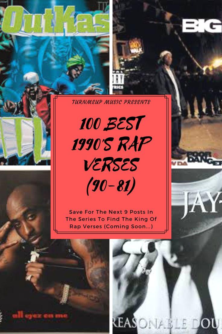 TOP 100 RAP VERSES EVER (90's Edition) (9081) in 2020