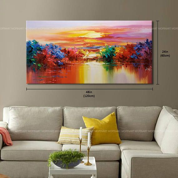 Contemporary wall art, Modern Textured Painting,Impasto Landscape Textured Modern Palette Knife Painting,Painting on Canvas Contemporary Wall Art, Contemporary Landscape, Palette Knife Painting, Modern Landscaping, Texture Painting, Landscape Paintings, Landscape Art, Art Drawings, Canvas Art