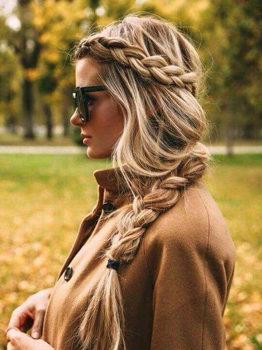 Peinados con Trenzas Paso a Paso l | Pinados | Hair, Hair ...