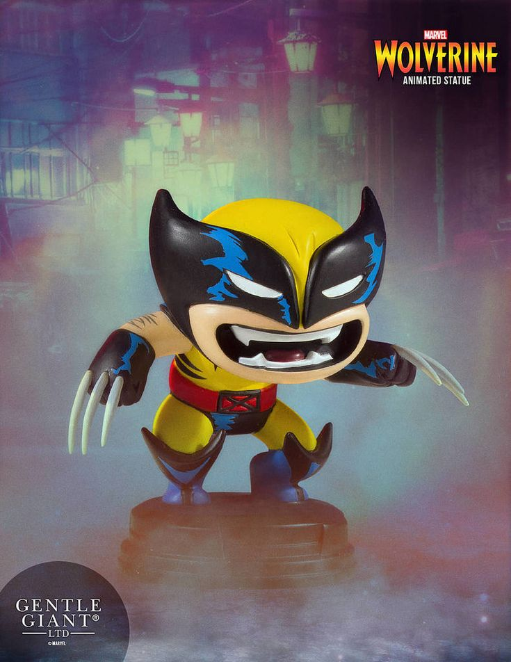 好啦乖!不要再生氣囉~ Gentle Giant Marvel Comics【金剛狼】Wolverine Animated Statue | 玩具人Toy People News ...