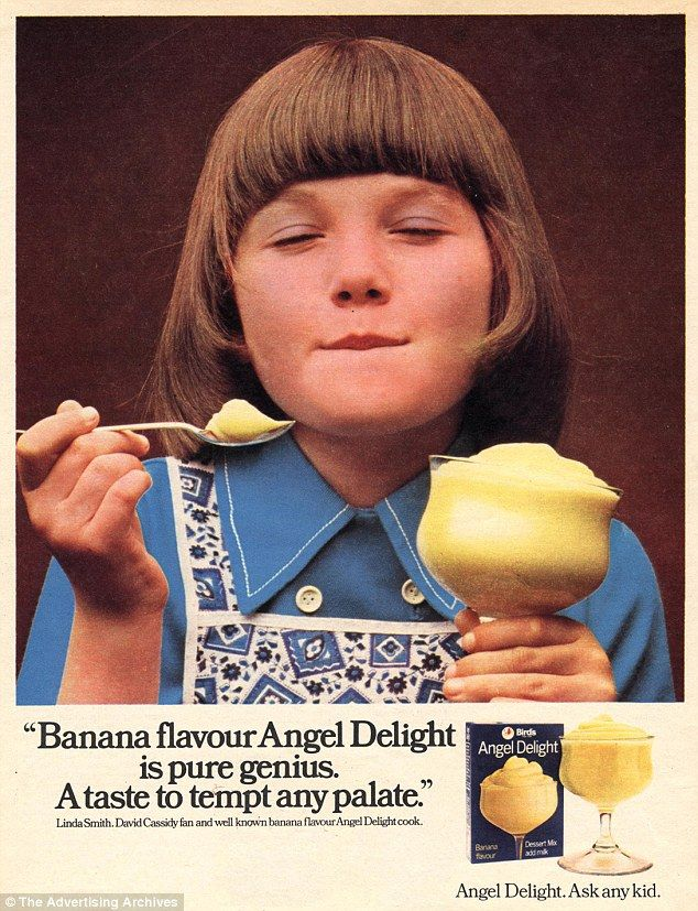 Who could forget the first time they had Angel Delight? A chemically laden powder whisked into a mousse with cold milk, it still remains one of the best-selling instant puddings today
