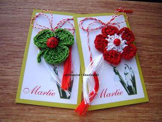 Artmonica Handmade Martisoare Crosetate M A R T I E