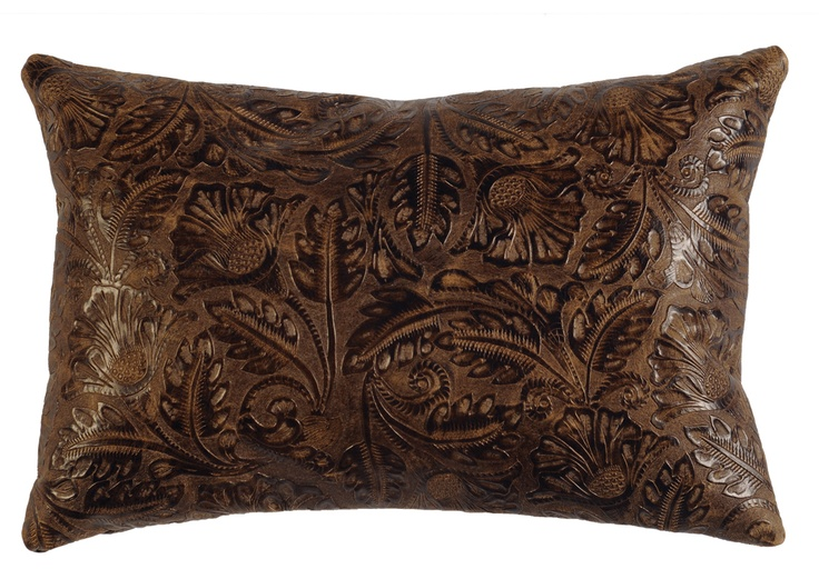 How To Make A Leather Throw Pillow : 48 best images about Decorative Leather Pillows on Pinterest