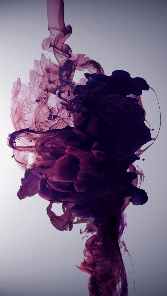 Hd Purple Liquid Wallpaper For Iphone