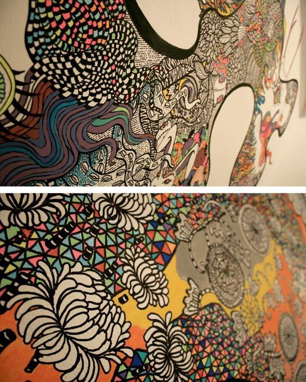 Mural by Milena Taranu, via Behance