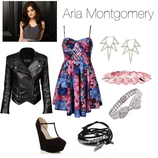 U0026quot;Aria Montgomery Inspiredu0026quot; by acidicstef on Polyvore | A Smile Is Always In Style | Pinterest ...