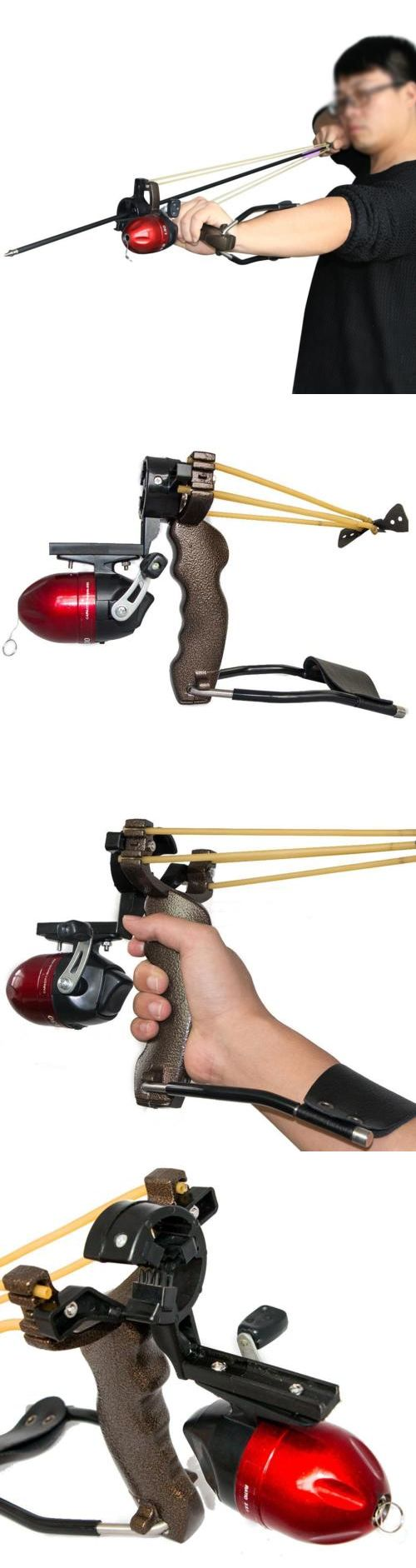 Slingshots 117141: New Freshwater Fishing Reels Slingshot Bow Arrow Rest Catapult Hunting Slingbow BUY IT NOW ONLY: $51.84