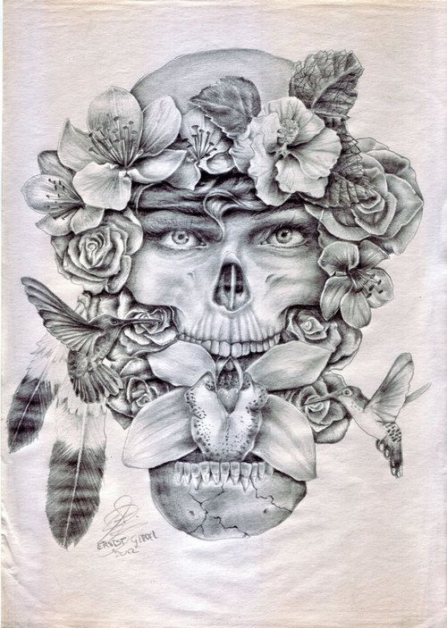 15 Best images about Art on Pinterest | Skull drawings ...