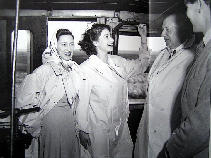 Royal Princesses Margaret Rose and Elizabeth on a visit to South Africa. Photo by Ian Pretorius, 1947.