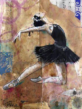 "Saatchi Art Artist Loui Jover; Drawing, ""black swan study"" #art"