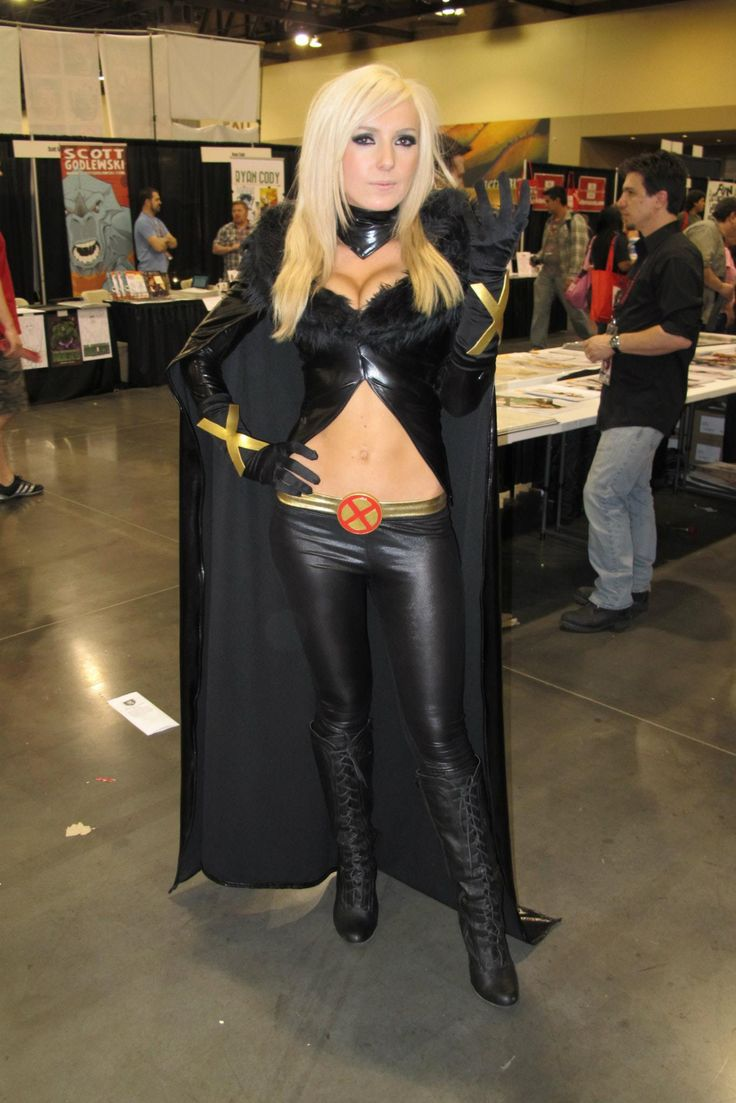X-Men Marvel Comics. Character: Emma Frost. Version: Dark. Cosplayer: Jesica Nigri. From. Arizona, US. Events: Amazing Arizona Comic Con 2012.