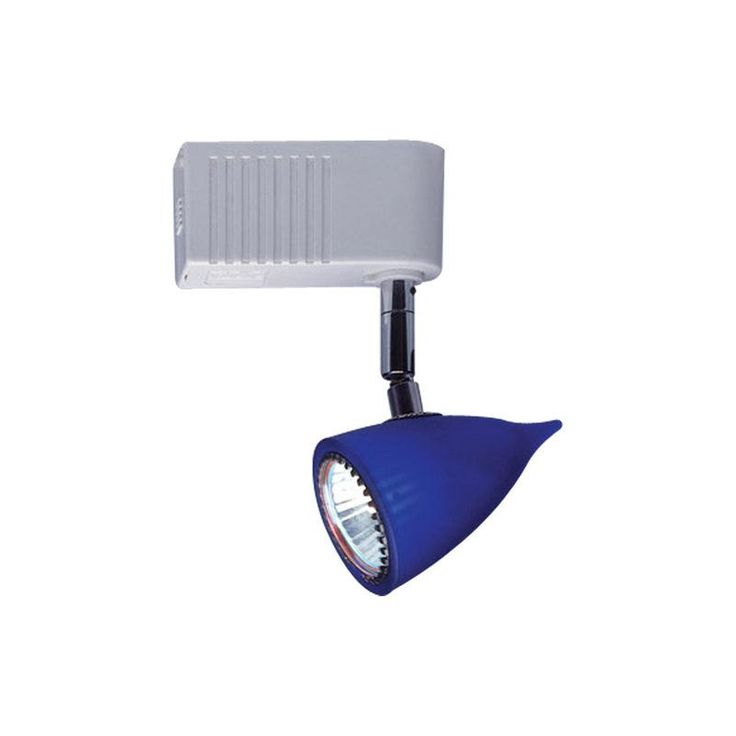 blue track lighting.  lighting plc lighting tr81 single light adjustable track head from the  vetro co black  for blue