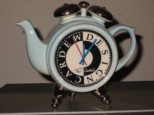 211 Best Clock Teapots Images On Pinterest The Hours