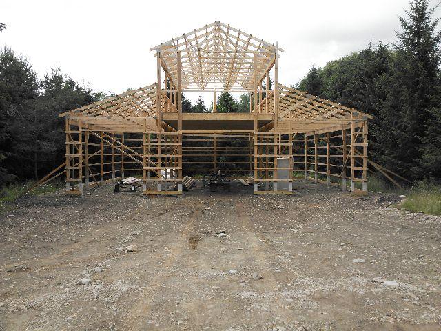 Plans To Build Monitor Pole Barn Kits PDF