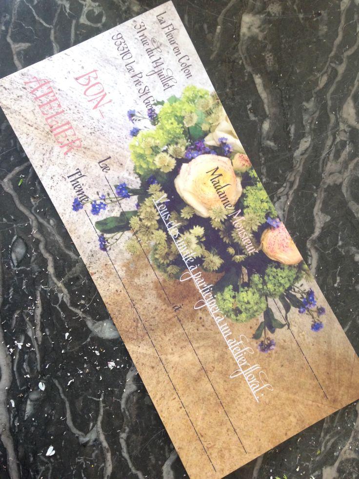 Commandez directement vos fleurs aux fleuristes locaux. Ici c'est La Fleur en Coton qui vous propose une création originale à 91€ Atelier en boutique DIY. Dates à convenir ensemble... Cadeau à offrir ou à s'offrir... Découvrez les bases de l'art floral.  en livraison autour de Le Pré-Saint-Gervais https://www.coleebree.com/le-pre-saint-gervais/la-fleur-en-coton/bouquets?command=97fac2b0-d9c4-4f95-8e7a-edba6caddd5c