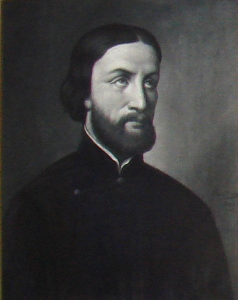 1860 painting of St. François-Isidore Gagelin. Photo taken by PHGCOM