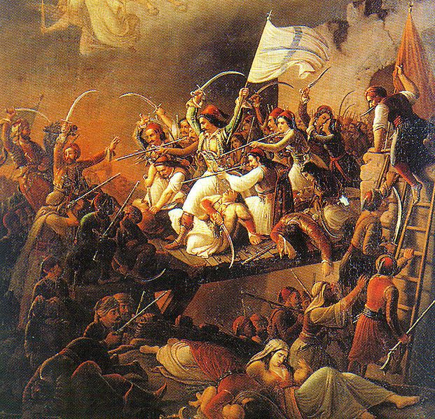 Beginning in 1821, the Greek War of Independence began as a rebellion by Greek nationalists against the ruling Ottoman Empire.