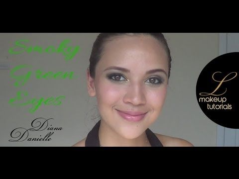 Hi beauties! This makeup look is a lil more dramatic, it is a smoky Green Eyes look with Nude brown lips! I love this makeup for a fun day out with friends or a dinner out with the hubby :) Not too dramatic, just the perfect amount of drama for me!    For the products visit us at www.luxuriacosmetics.com  For more makeup tutorials check our Youtube.com/LuxuriaCosmeticsVids