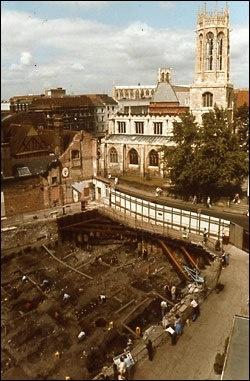 York, Urban Archaeology