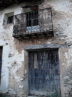 A door down the road from me where I lived in rural Spain.