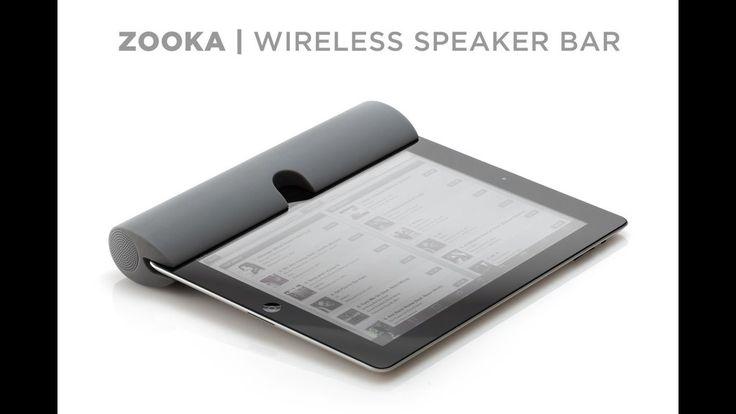 ZOOKA™ - Wireless Speaker for your iPad, iPhone & iPod
