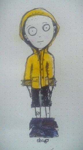 Ploum - ciré jaune