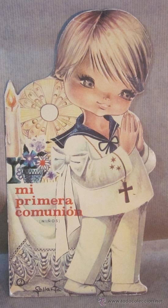 MI PRIMERA COMUNIÓN(NIÑOS),ED.ROMA,AÑO 1965,CUENTO TROQUELADO (Libros de Lance - Literatura Infantil y Juvenil - Cuentos)