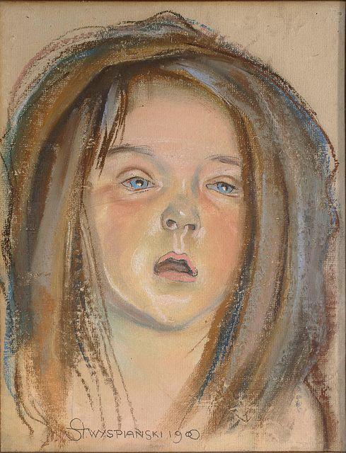 Główka Helenki, córki artysty, 1900 - Wikipedia, wolna encyklopedia