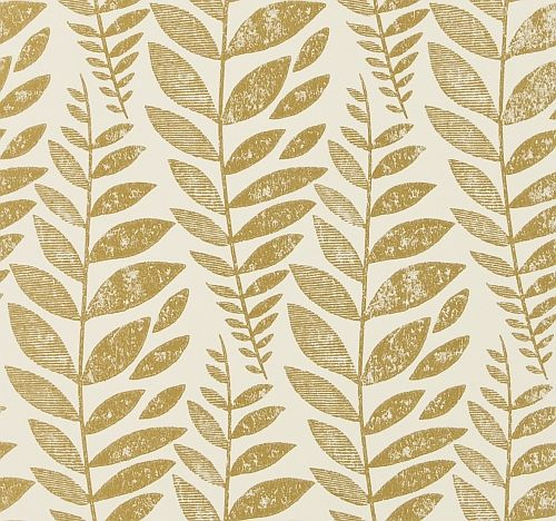 Odhni  Gold wallpaper by Designers Guild