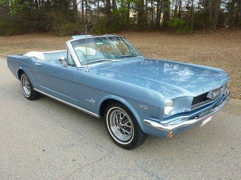 1966 Mustang Convertible in my favorite color