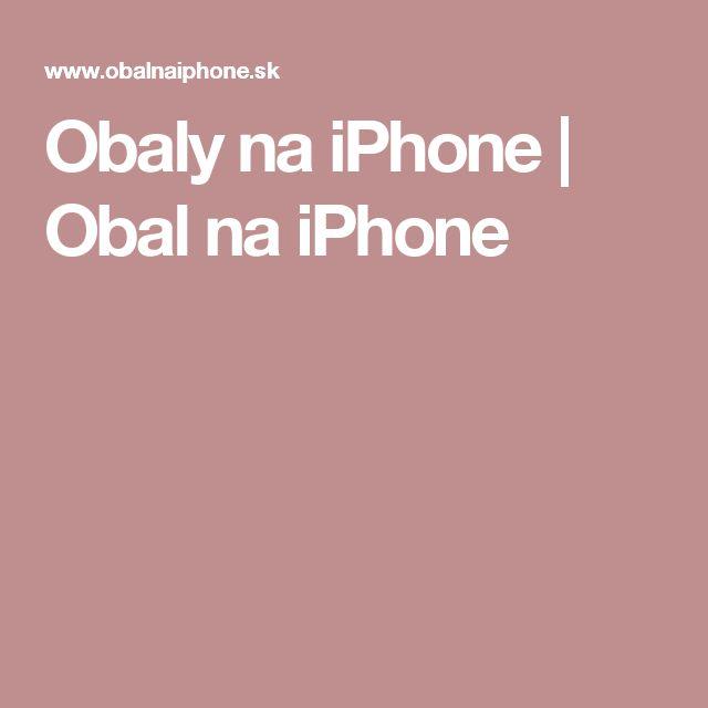 Obaly na iPhone   Obal na iPhone