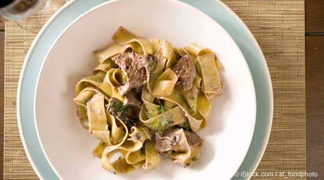 For a quick meal that's simple yet deliciously savory, try this Beef Stroganoff recipe. http://recipes.mercola.com/beef-stroganoff-recipe.aspx
