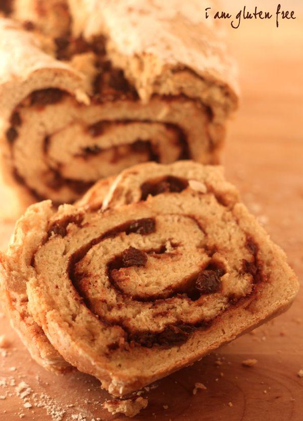 Yummy gluten-free cinnamon raisin bread Vitacost & NFCA Gluten-Free # ...