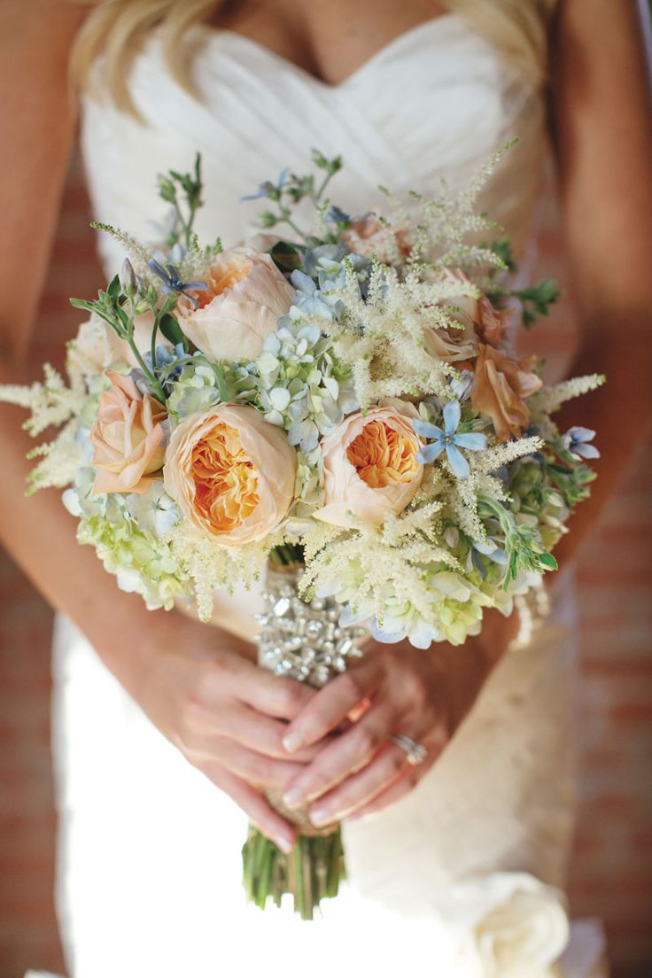 Peach Garden Rose Bouquet 14 best peach garden wedding images on pinterest | marriage