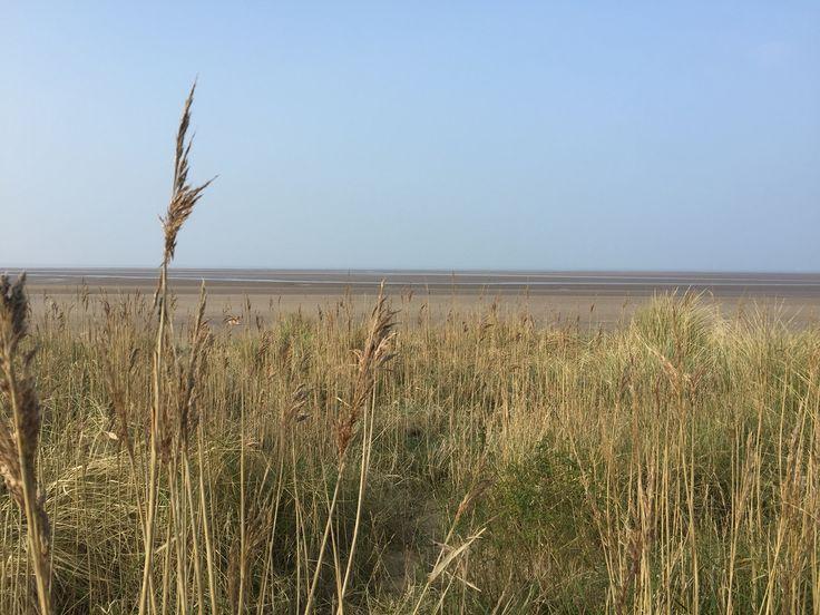 Brancaster beach deserted! www.larkcottageholidaycottage.co.uk