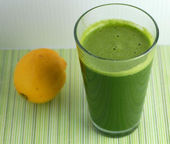 Green Lemonade • Elana's Pantry  #21dsd #greensmoothie