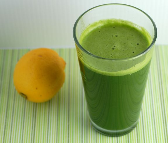 My favourite drink - green lemonade!
