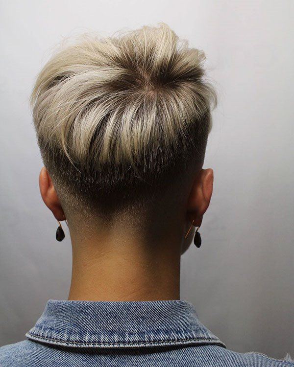 20 Best Short Hair Back View Images Styles Art Short Hair Back Short Hair Back View Cool Short Hairstyles