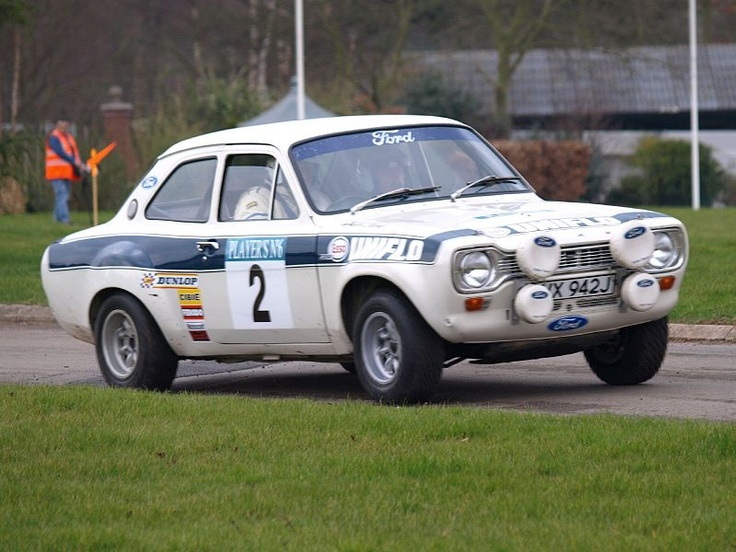 Ford Escort Mk1 RS 1600. Roger Clark, Tony Mason 1972 winners of the RAC rally.