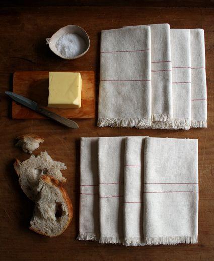 pretty handmade napkins