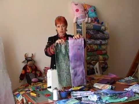 Лоскутное шитье для начинающих. Ткани - YouTube