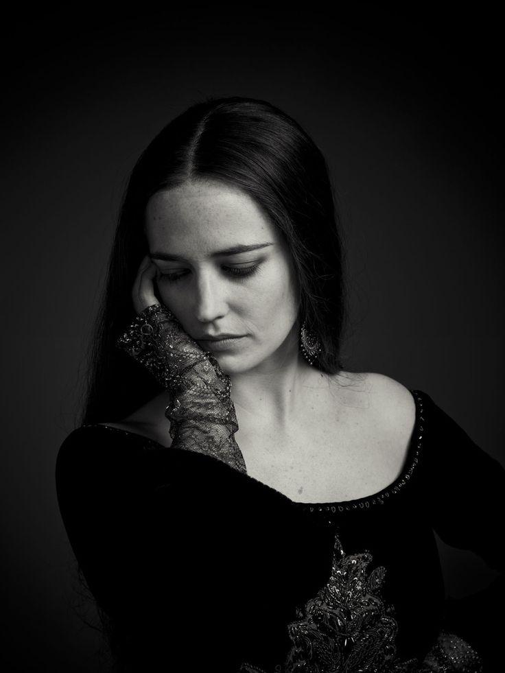 "edenliaothewomb:  "" Eva Green as Morgan, portrait by Michael Muller for Camelot.  """