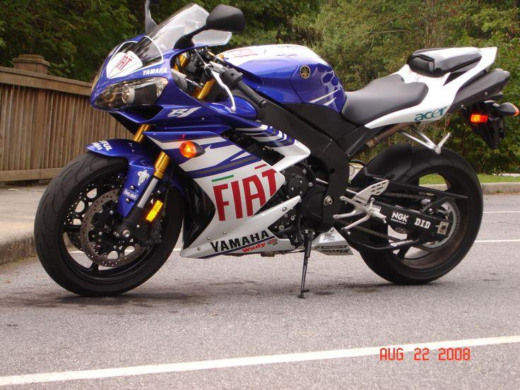 2008 Yamaha R1 FIAT edition